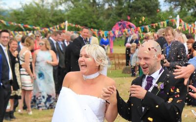 Your Wedding Ceremony – The Confetti Throw