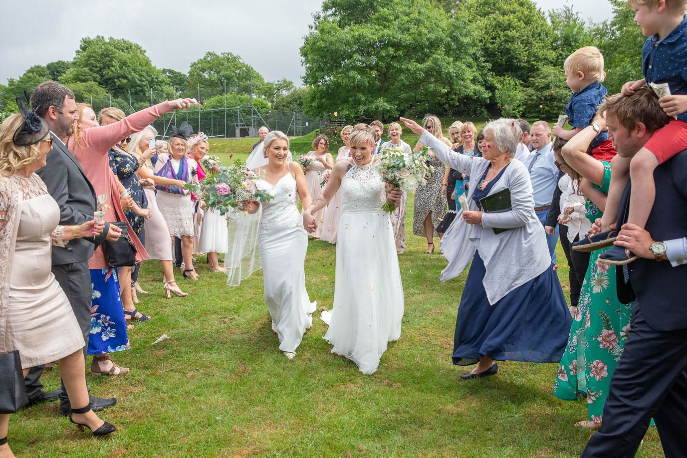 Wedding Ceremony in Devon Village Hall