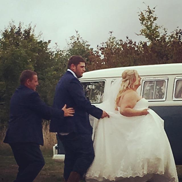 wedding celebrant - Confetti Bombardments - Congas - Kisses - Capturing the Joy