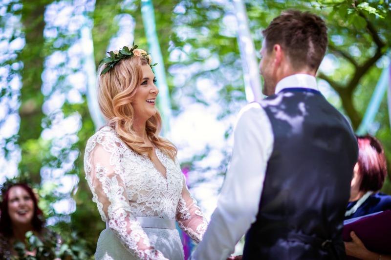 Wedding Celebrant - Wed-fest Wedding  - Wildwood Bluebell