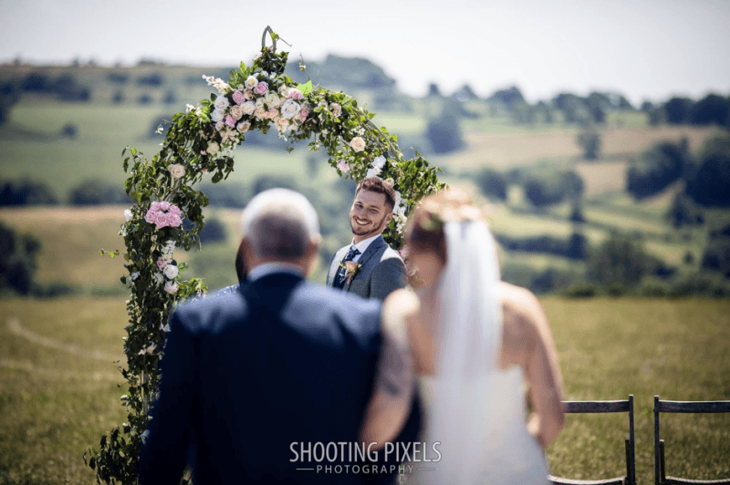 The Somerset Celebrant - A Barn Outdoor Wedding