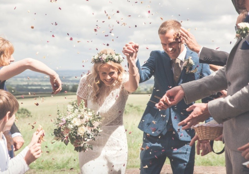Somerset Celebrant Wedding Ceremony in Country House