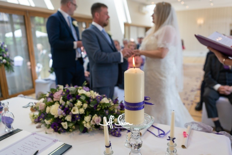Wedding Celebrant - Unity Candle Ceremony