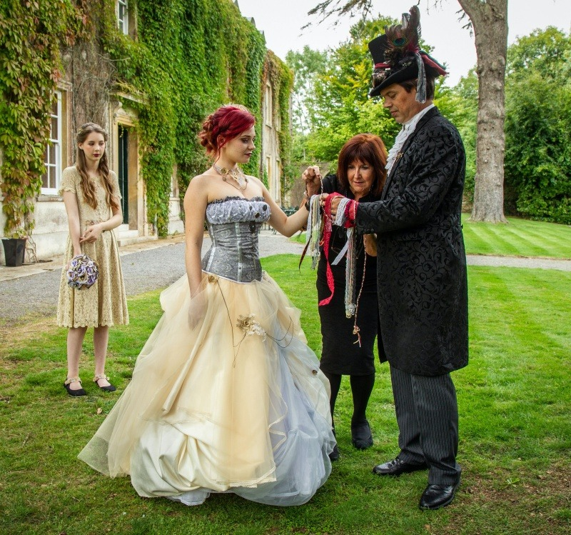 Wedding Celebrant - Steampunk Handfasting