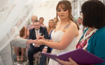 Read or Repeat your Wedding Vows ?  – A Celebrant's Perspective