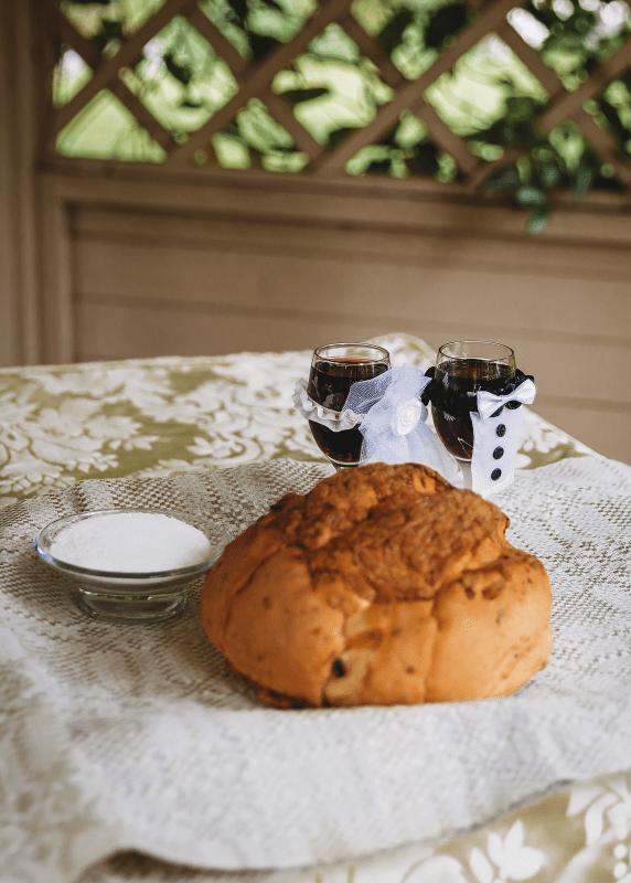 Wedding Celebrant - Lithuanian Bread, Salt and Wine Ceremony