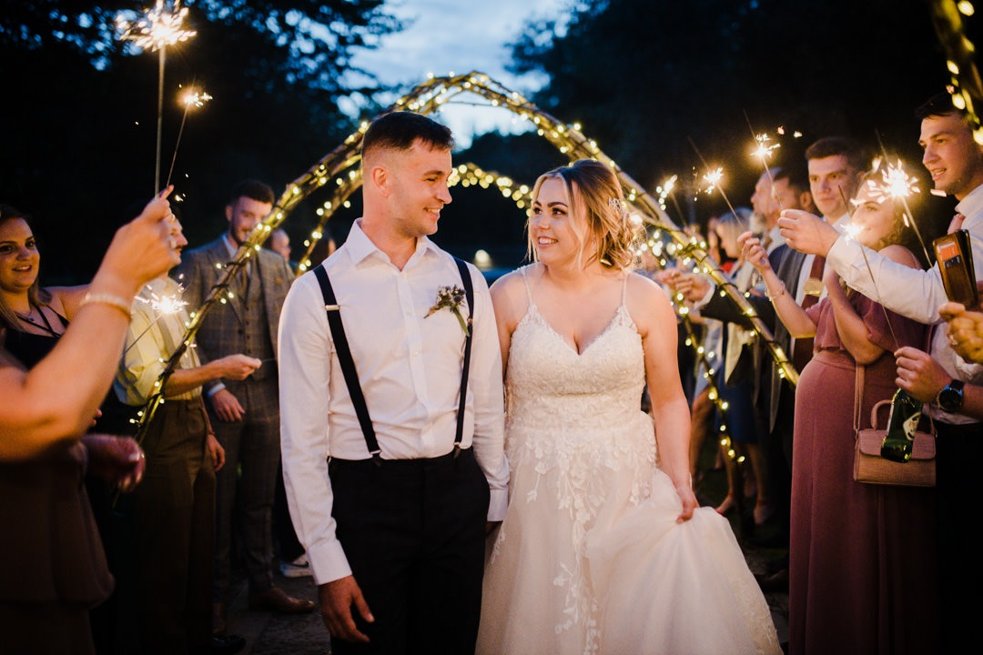 Wedding Celebrant - Wedding Sparklers